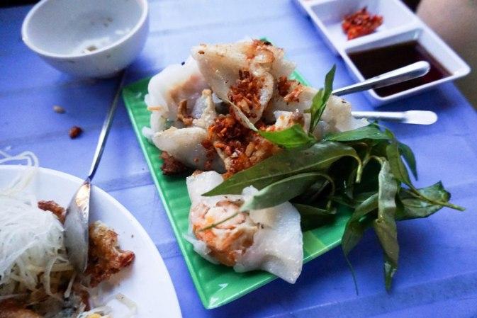 Dumplings in Ho Chi Minh City, Vietnam, April 2016