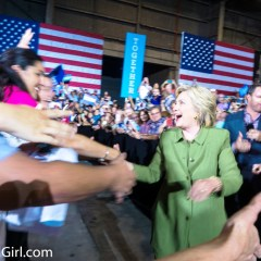 My Photos from Hillary Clinton's Presidential Campaign Rally in Tampa, July 22, 2016