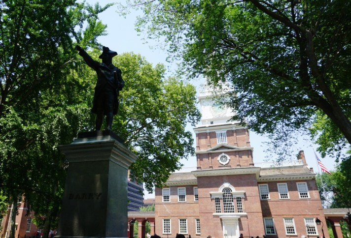 Visiting Independence Hall is a Patriotic Thing to do in Philadelphia