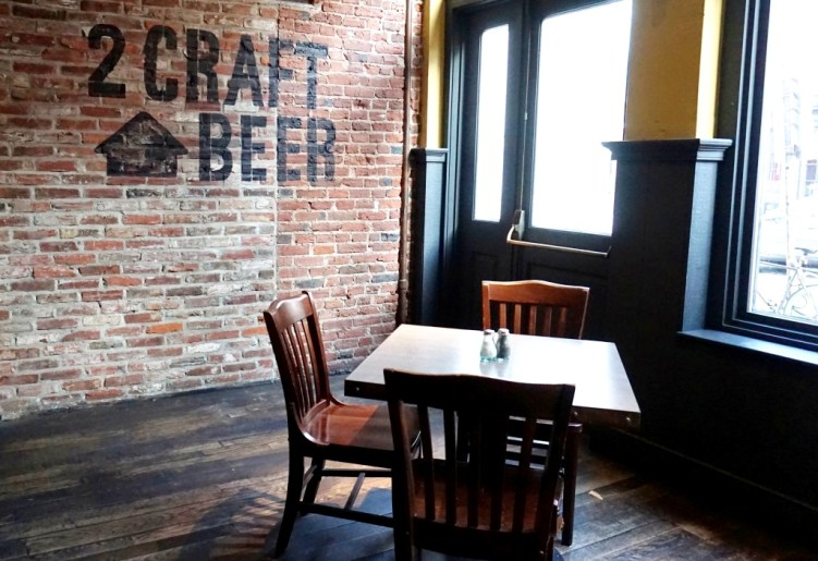 Brick Walls Give 2nd Story Brewing Company an Old-School, Yet Hip Vibe, Philadelphia, Pa.