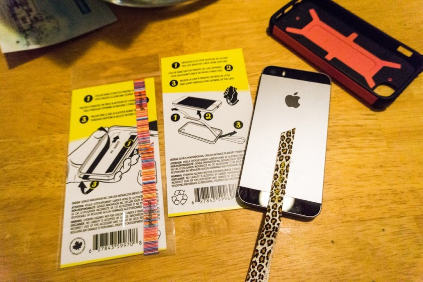 Easy to Affix the Petite Loop Phone Strap to My Phone