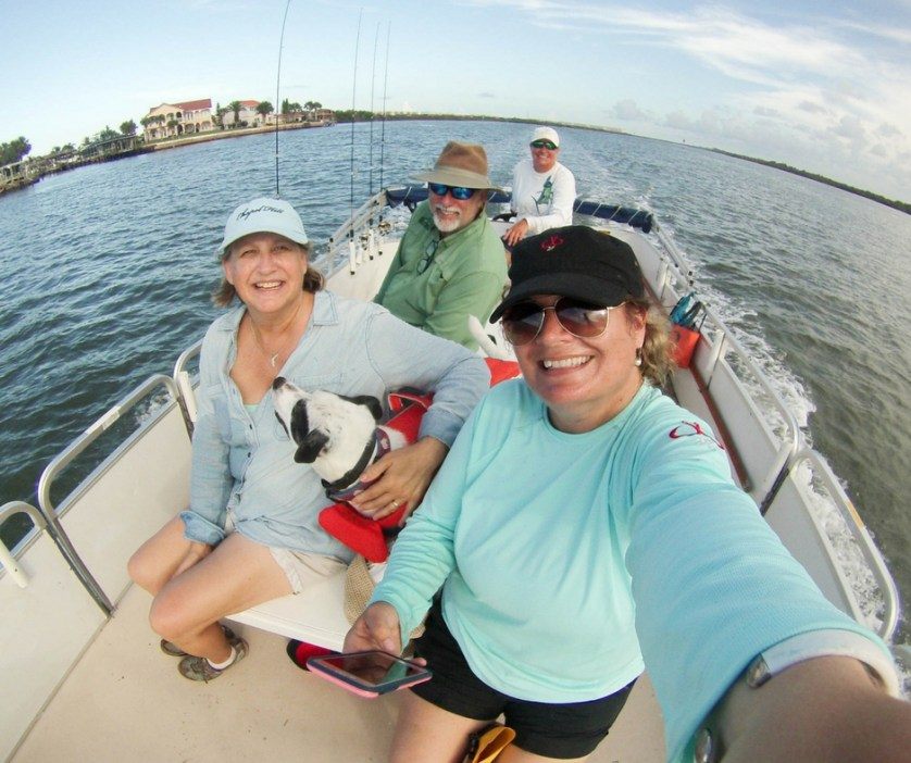 Happy Faces Following a Great Afternoon Fishing with Capt. Rachael Reynolds of R&R Charters, Daytona Beach, Fla., July 14, 2017.