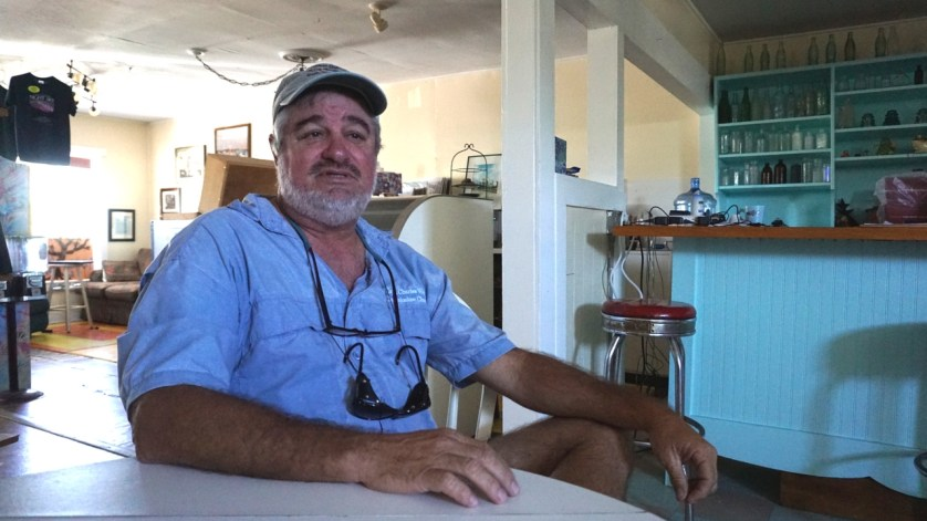 Charles Wright, Owner of Everglades Area Tours in Chokoloskee, Fla.