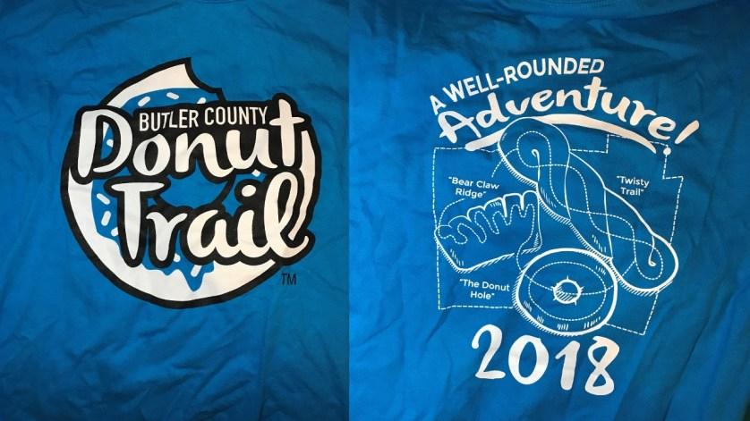 Butler County Donut Trail 2018 T-Shirt
