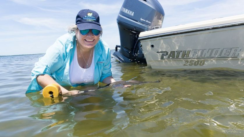 I Wasn't Fishing This Day But Releasing Tagged Redfish for the 2019 CCA Florida STAR.