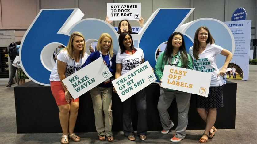 Influential Women in Fishing Industry Are Ready to Make Some Waves. 2018 ICAST, Orland, Fla.