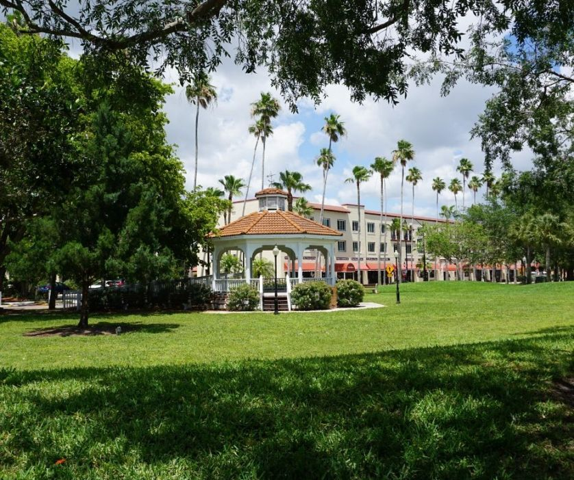 If You're Lucky, Catch a Musical Performance in the Gazebo in Centenniel Park in Downtown Venice, Fla.