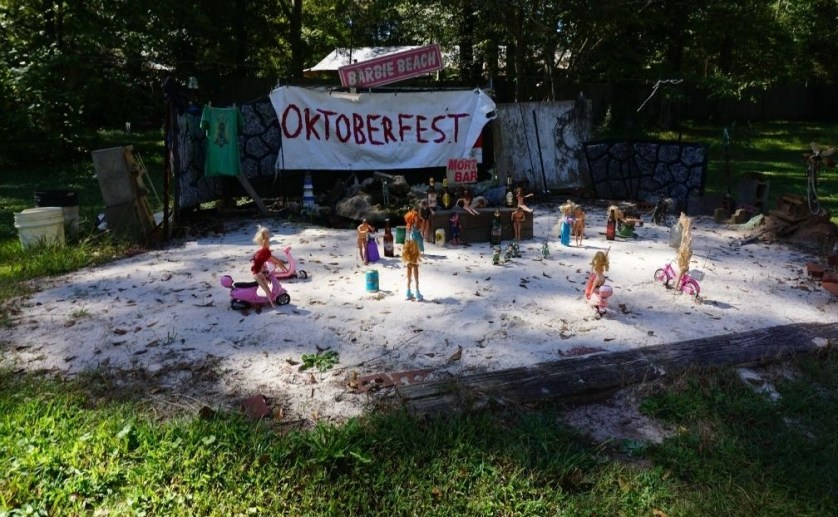 Barbie Beach is a Quirky and Kitsch Thing to See in Georgia