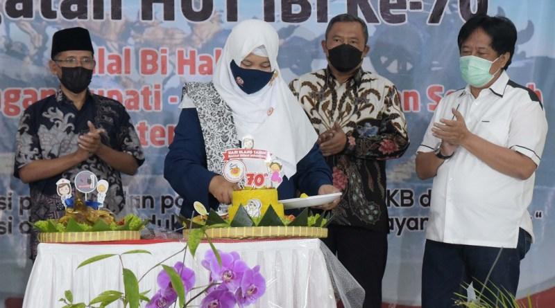 Ikatan Bidan Indonesia Boyolali Peringati HUT ke 70
