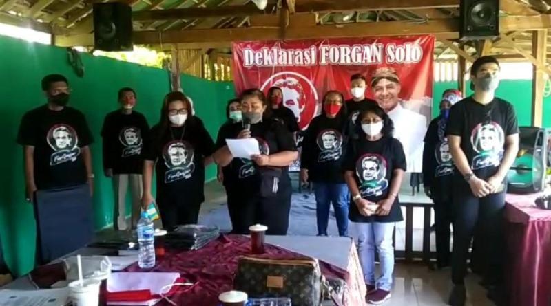 Deklarasi Forgan, Relawan Pendukung Ganjar Pranowo Presiden