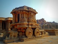 The Stone Chariot, Hampi