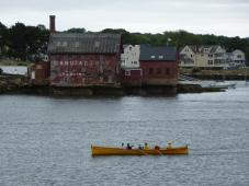 Seine boat crew