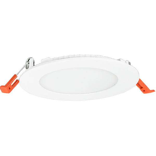 4 in. Ultra Thin LED Downlight 13 Watt – 75 Watt Incandescent Equal – 850 Lumens – 4000 Kelvin – Round – White Trim – Dimmable