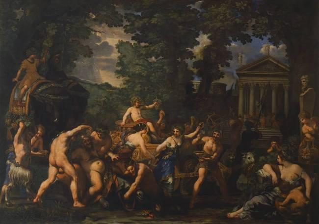 Cortone Le triomphe de Bacchus