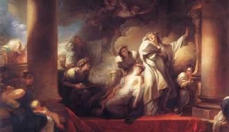 Fragonard, Corésus et Callirhoé