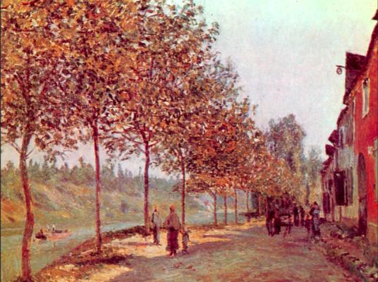 Sisley, Une matinée de Juin, 1884