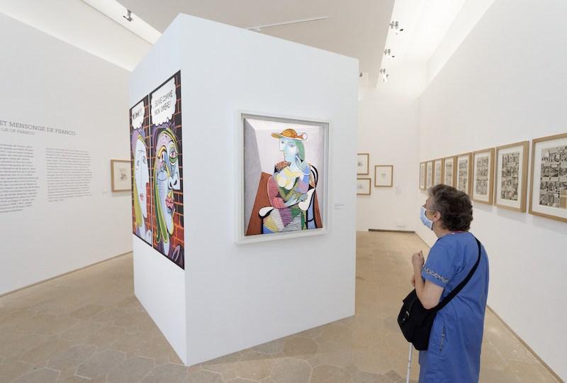 Exposition Picasso et la Bande-dessinée
