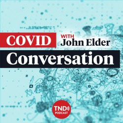 The COVID Conversation-podcast-cover-art