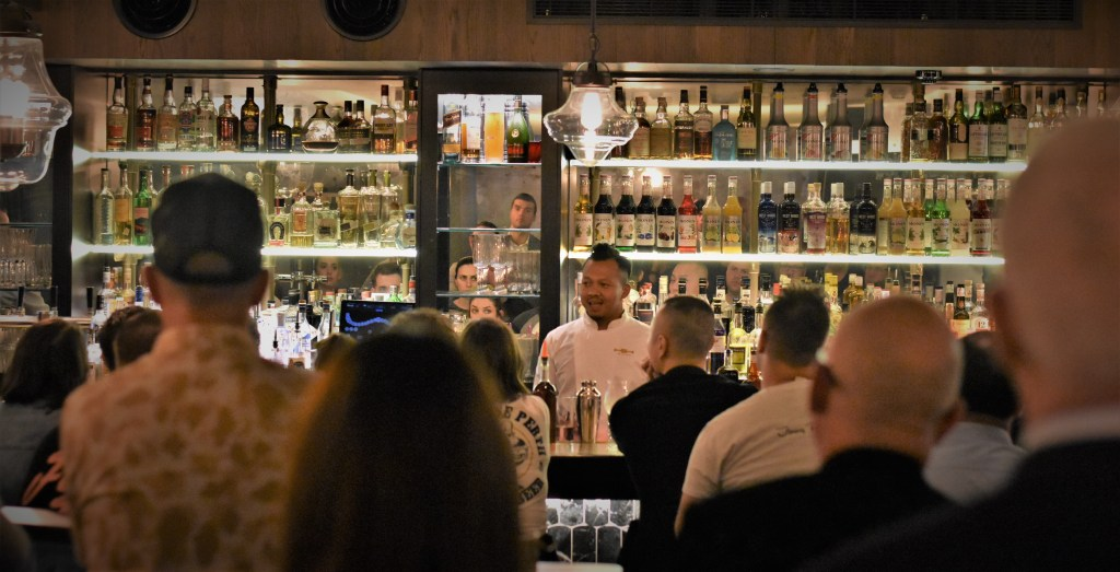 Agung Prabowo leads a workshop at Sydney Bar Week