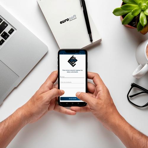 App asistencia con celular