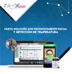 Reconocimiento Facial y Lector de Temperatura TA-X 2020