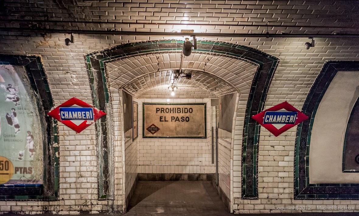 Resultado de imagen de metro de chamberí