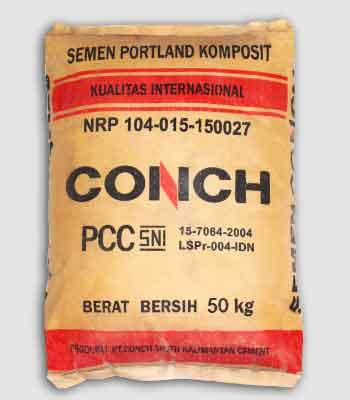 harga semen conch 50kg terbaru