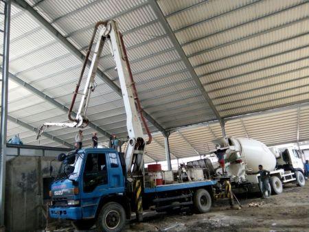 pompa beton mini murah