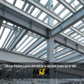 jasa pemasangan besi h-beam