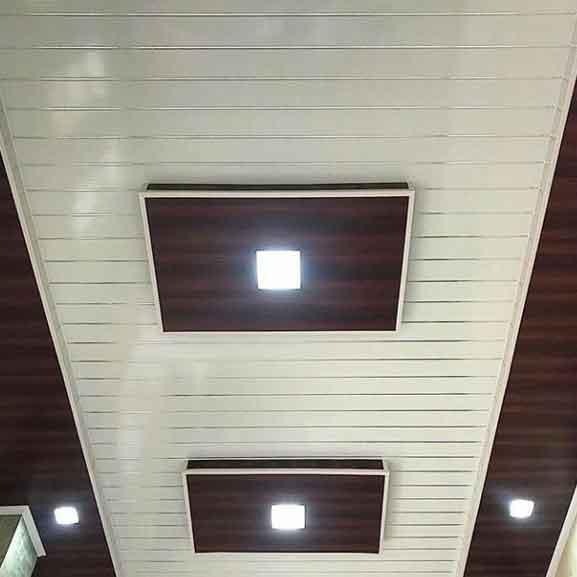 Harga Plafon PVC Terpasang Per M2 Lembar Shunda Plafon