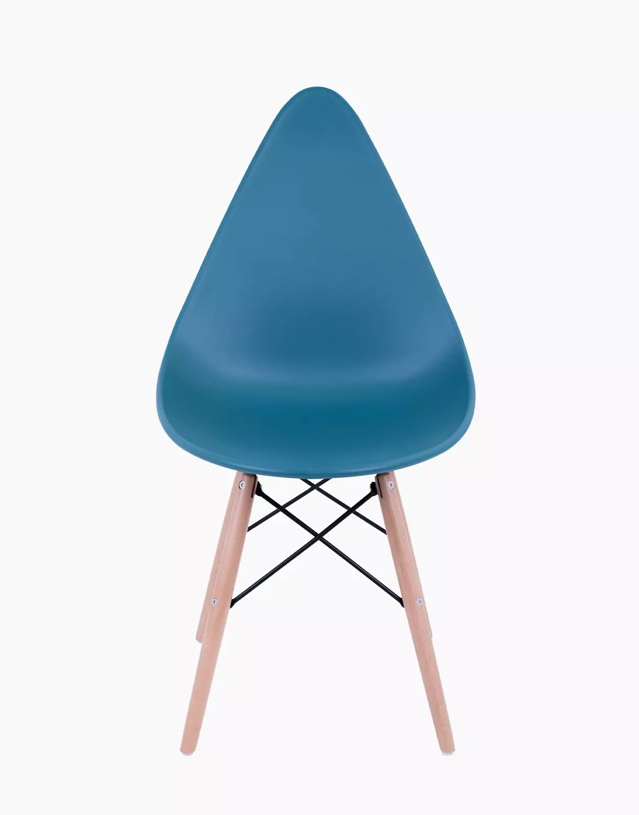 chaises gusto bleu canard lot de 4 vente en ligne de. Black Bedroom Furniture Sets. Home Design Ideas