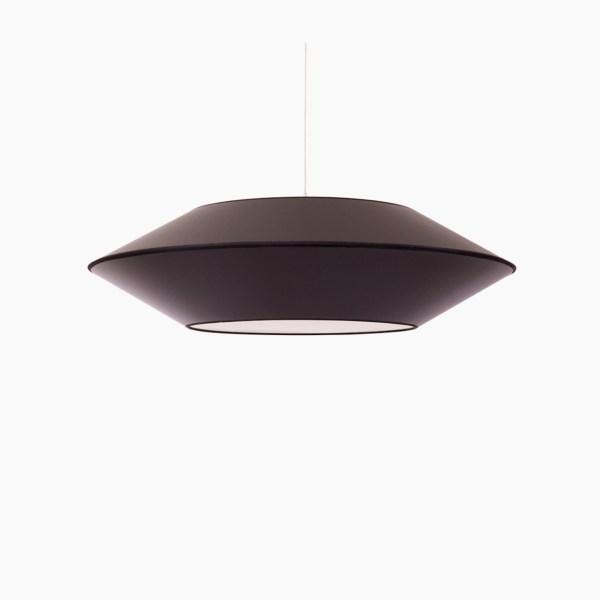 Détails techniques Couleurs : noir Dimensions produits : L.P.H : 56 x 56 x 15 cm Nombre de produits : 1 Ampoule E27 MAX 60W non incluse Référence Noir : SUSP.OVNI2.ALZ520/GLD