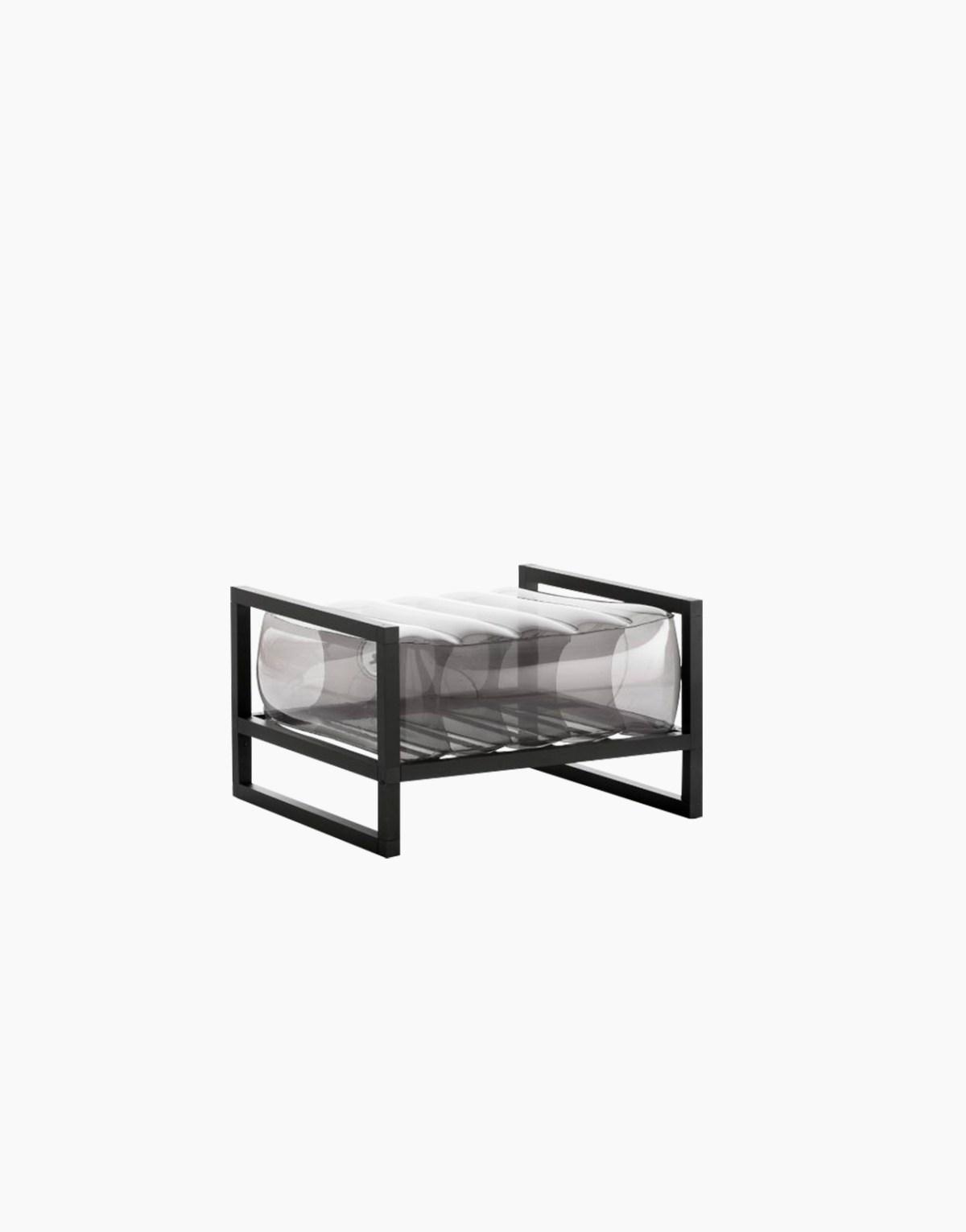 Revendeur de Mojow solution design fr mobilier assises fauteuil Yoko noir cristal