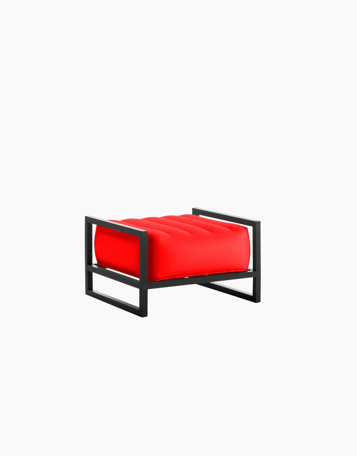 Revendeur de Mojow solution design fr mobilier assises fauteuil Yoko rouge opaque