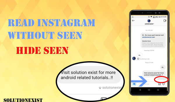 Read Instagram message without seen,Read Instagram message without notifying them, instagram tricks,hide instagram seen, instagram seen message,instagram seen icon gone