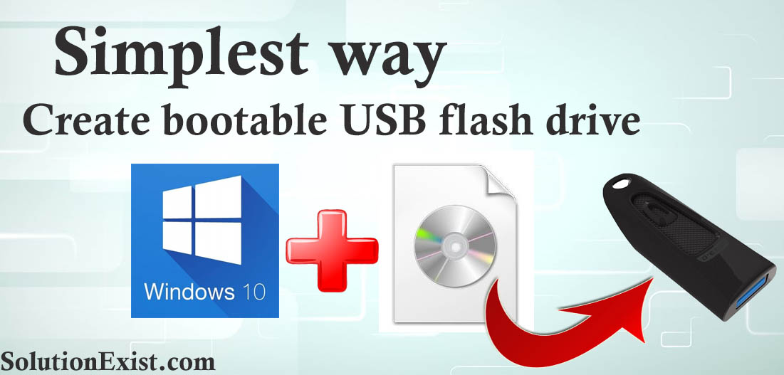 make usb windows 10 from iso