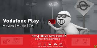 Vodafone Play app – Get Free 500 MB 3G Data + Free 3 Month TV Subscription