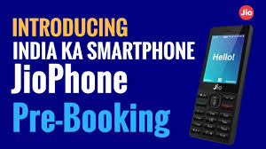 Jio phone booking 1500 online or offline on Jio.com or My Jio app ( jio free phone.org )