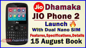 Jio Phone 2 Free Online Booking By Jio.com or My Jio app