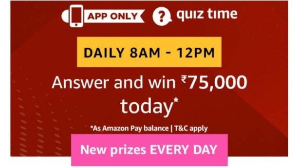 Today Amazon 15 March Quiz Answers