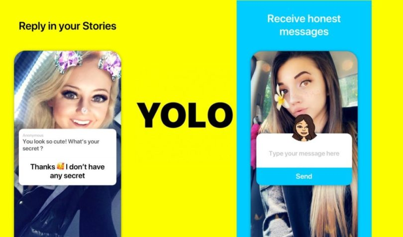 Onyolo snapchat anonymous app Download