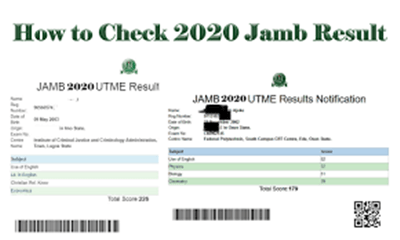 JAMB Result 2020: How to Check JAMB Results Using JAMB Registration Number