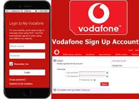 Vodafone Sign Up Account | Vodafone Login Account – Vodafone Mobile App Download