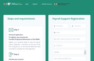 Step by Steps to Register for FG Survival Fund Program – Payroll Support Registration