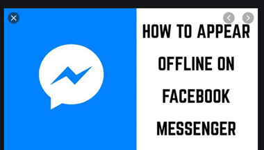 Can I Appear Offline On Facebook