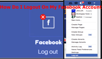 How Do I Logout On My Facebook Account – Logout On My Facebook Account