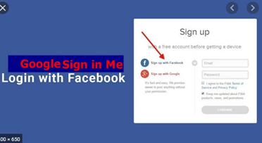 Sign Me In To Facebook Through Google