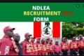 NDLEA Recruitment 2021