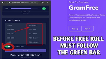 How to Recover Your Lost Grams in Gramfree Platform