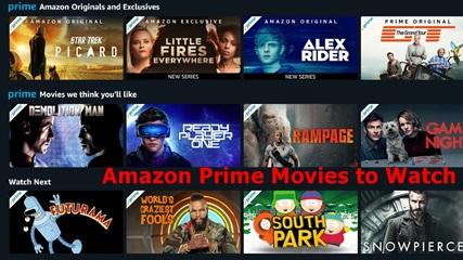 Amazon Prime Movies – Amazon Prime Movies to Watch
